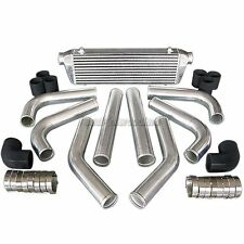 CXRacing 28x7x2.5 FMIC INTERCOOLER + PIPING KIT FOR FORD FOCUS F150 FUSION