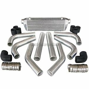 CXRacing-28x7x2-5-FMIC-INTERCOOLER-PIPING-KIT-FOR-FORD-FOCUS-F150-FUSION