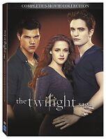 The Twilight Saga Complete 5-movie Collection Brand Dvd Set