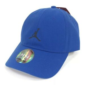 3474c6b99fa96c NIKE AIR JORDAN JUMPMAN HERITAGE 86 ADJUSTABLE HAT DEEP ROYAL BLUE ...