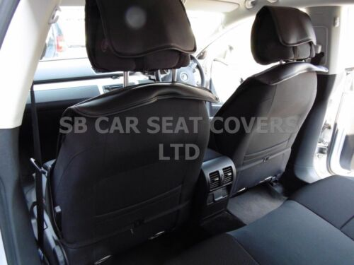 BLACK 2 FRONTS,YS01 RECARO d TO FIT A VOLVO XC60 CAR SEAT COVERS