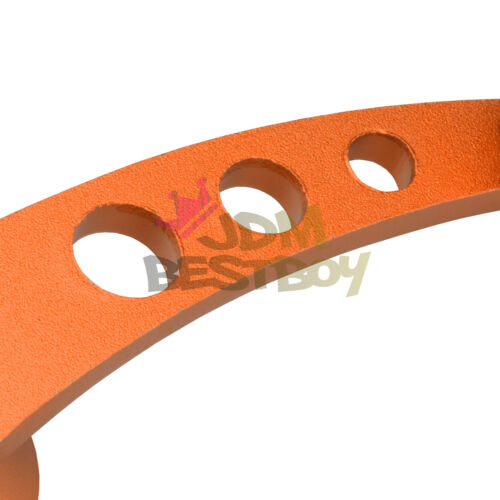 2Pcs Orange Car Window Winder Glass Crank Handle Aluminium Knobs Universal Fit