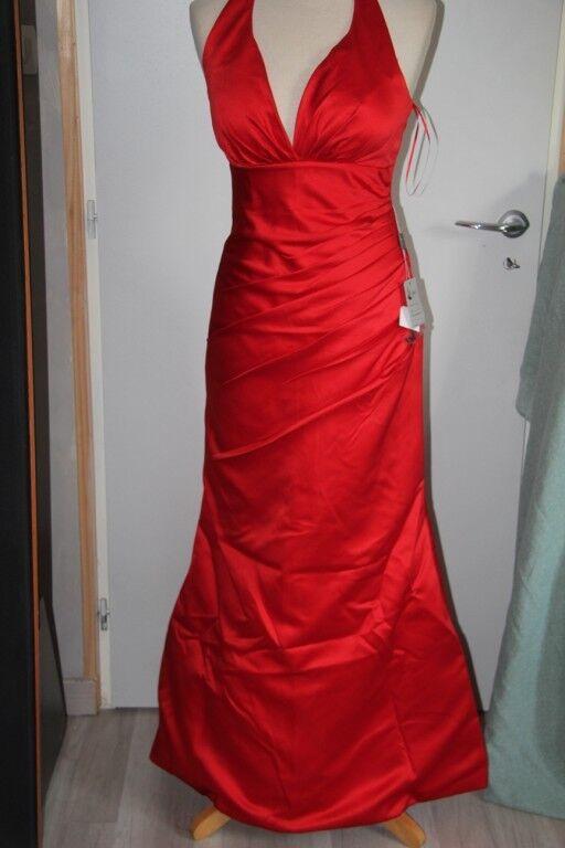 SEXYHER London - Robe Longue - Soirée - Cérémonie - red Vif- T38 neuf