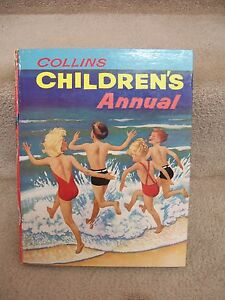 COLLINS-CHILDREN-039-S-ANNUAL-illustrated-amp-signed-by-Jean-Walmsley-Heap-Pendelfin