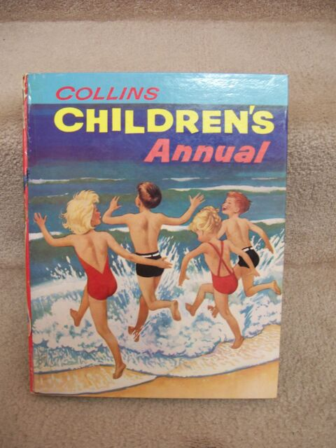 COLLINS CHILDREN'S ANNUAL illustrated & signed by Jean Walmsley Heap Pendelfin