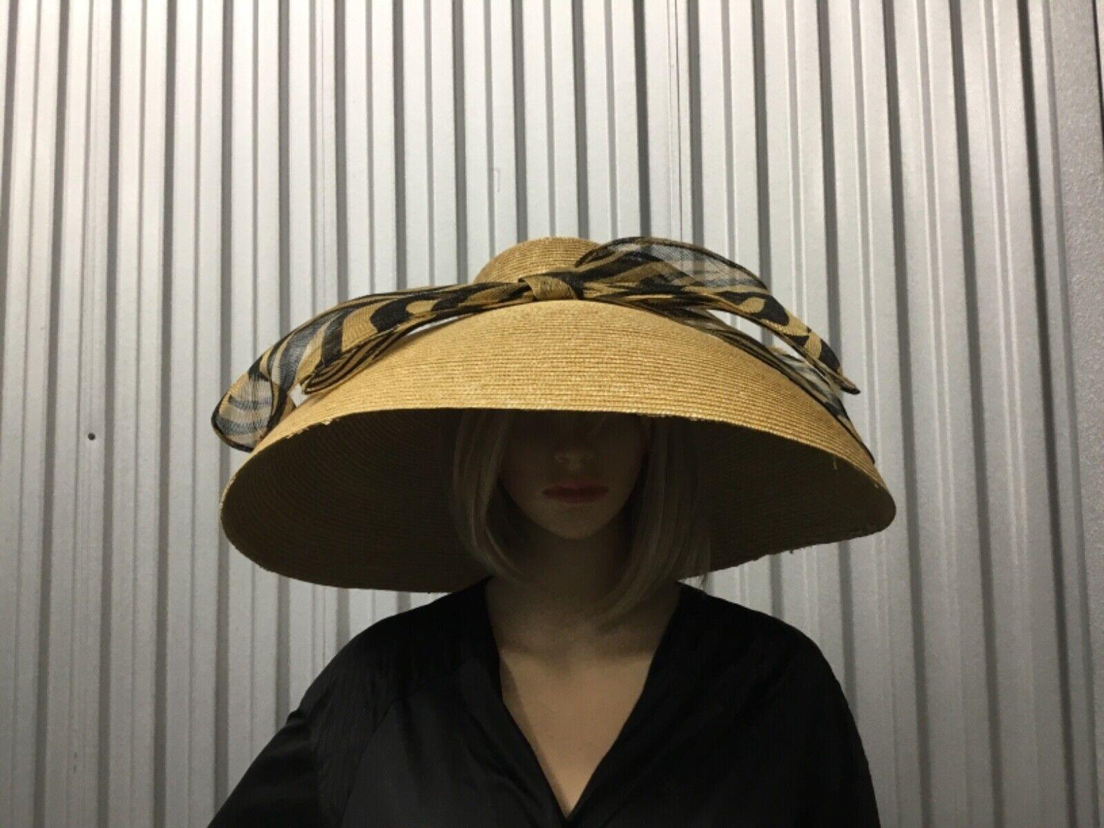 Soprattutto Cappelli Extra Large Wide Brim Fashio… - image 1