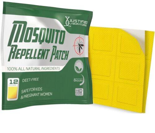 Mosquito Repellent Patch Natural Lemon Eucalyptus Essential Oils Deet Free