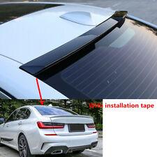 Fit For Bmw G20 19 21 320i 330i 330e Sedan Rear Roof Spoiler Top Lip Shiny Black