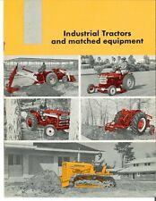 Ih International Industrial Tractors Amp Matched Equipment Brochure 240 340 660