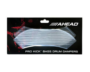 Ahead Abdd Pro Kick Bass Drum Gel Amortisseurs - 4 Pack-clair-afficher Le Titre D'origine Confortable Et Facile à Porter