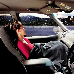 12V ELECTRIC HEATED LARGE TRAVEL BLANKET CAR VAN TRUCK POLAR FLEECE COZY WARM