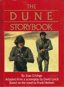 Dune-Storybook-Hardcover-David-Lynch-Frank-Herbert-1984-Movie-OOP-New-NM