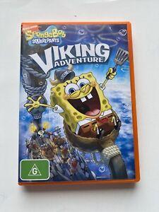 Songebob-Squarepants-VIKING-ADVENTURE-DVD-in-VGC