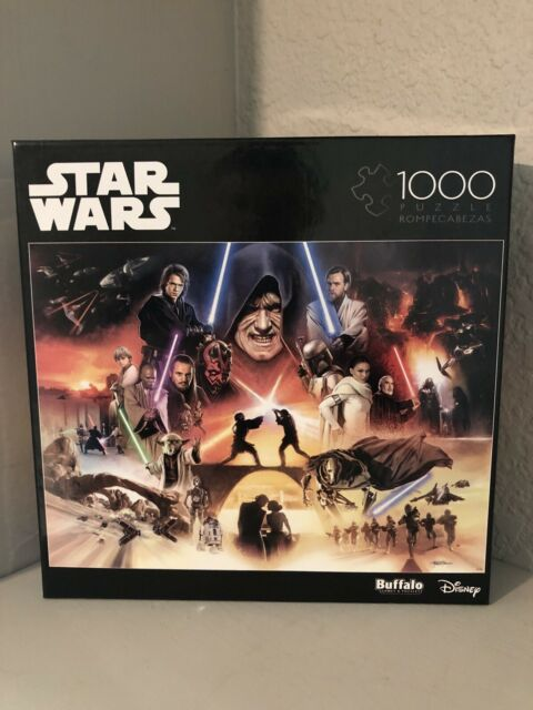 "Star Wars Buffalo Games 1000 Piece Puzzle ""I SENSE GREAT FEAR IN YOU, SKYWALKER"""