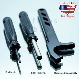 Glock-Tool-Kit-Front-Sight-Tool-Magazine-Disassembly-Tool-Pin-Punch-19-17-26-43