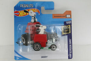 A-s-s-Hot-Wheels-nuevo-2020-Peanuts-Snoopy-screen-time-9-10-ghc81-14-250-OVP
