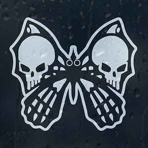 Butterfly-Skull-Car-Decal-Vinyl-Sticker-For-Bumper-Or-Window-Or-Panel