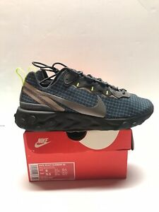 Nike-React-Element-55-Us8-Armory-Navy-Worn-Once-Rare