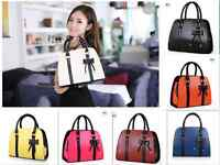 Fashion Women Lady Hobo PU Leather Messenger Handbag Shoulder Bag Totes Purse 53