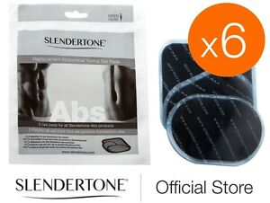 6 MONTH SUPPLY SLENDERTONE ABS PADS - SAVE 50% Slendertone Abs Belts (6 packs)