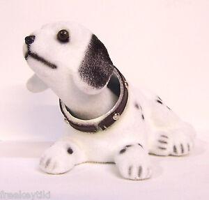 dalmatian classic vintage style dog bobble nodder head bobblehead