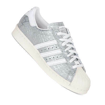 Adidas Originals Damen Superstar 80s Silber S76415
