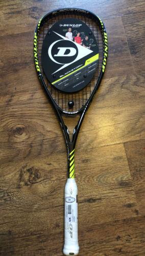 Dunlop Blackstorm Ti Squash Raquette