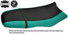 BLACK & TEAL CUSTOM FITS SEA DOO GSX GS RFI 96-04 VINYL SEAT COVER + STRAP