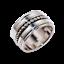 Solid-925-Sterling-Silver-Handmade-Wide-Band-Fidget-Spinner-Ring-Meditation-Ring thumbnail 7
