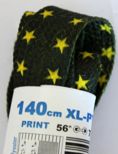 "TOBBY XL flat//fat shoe laces lacci larghi scarpe 140cm//56/"""