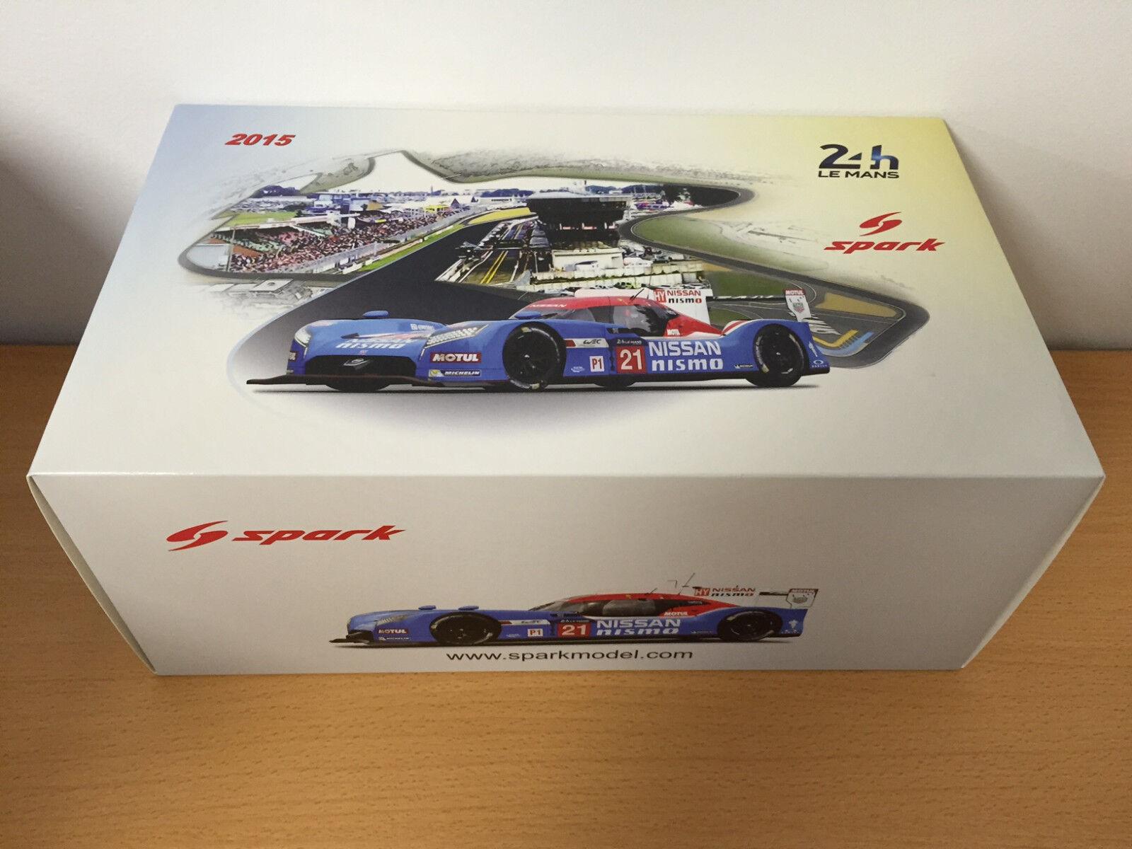 Nissan GTR LM LMP1 Le Mans 2015  21 Spark 1 18