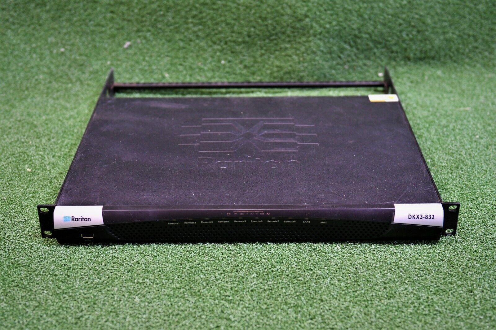 Raritan Dominion DKX3-832 KX III KVM-over-IP Switch, 32-Port 8-User - 1YrWty