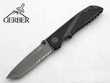 Couteau Gerber Icon Tactical Tanto Serr Lame Acier 7Cr17MoV Titane G0372