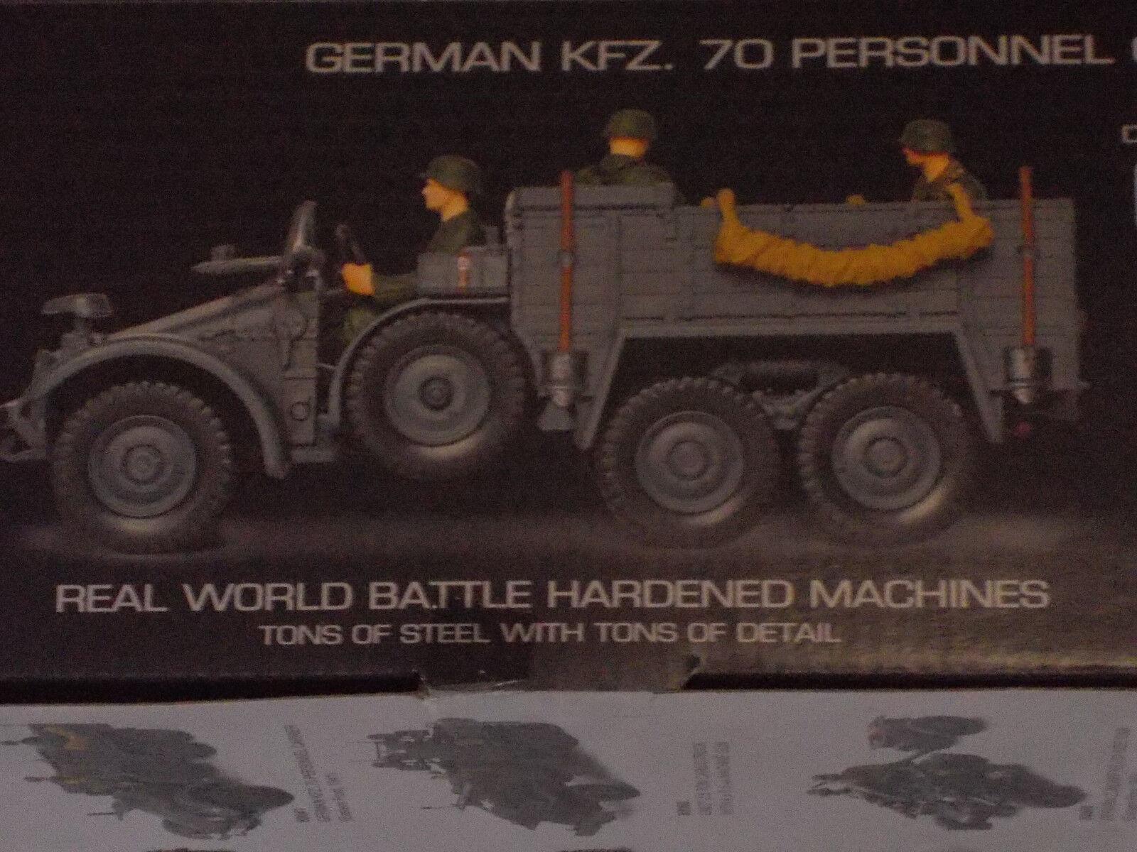 2.Weltkrieg  Deutsche Deutsche Deutsche Wehrmacht, Krupp Protze Kfz 70, Forces of Valor 1 32  | Preisreduktion  41e4cd