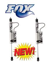 """2008-2018 Ford F250/F350/F450 Fox Remote Reservoir Shocks Front fits 2-3.5"""" Kits"""