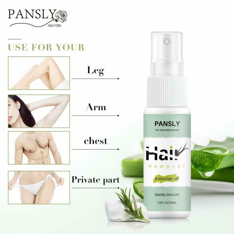 Natural Hair Removal for Women Men Permanent Painless Body Hair Remover 30ml