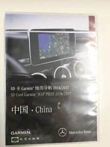 Details about New Original Mercedes Benz Garmin Map Pilot SD Card With  China Maps 2016/2017