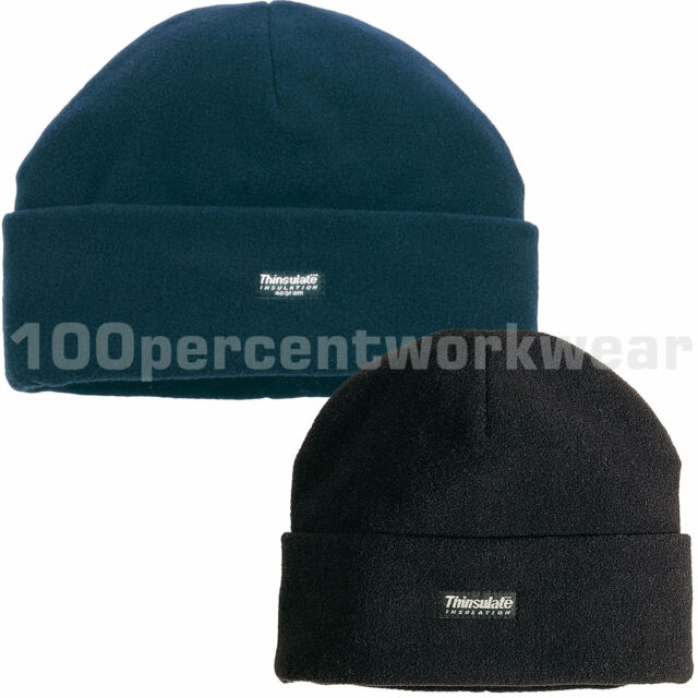 7c60d8380da85 Delta Plus Panoply KARA Polar Fleece Hat Cap Beanie 3M Thinsulate Black or  Navy