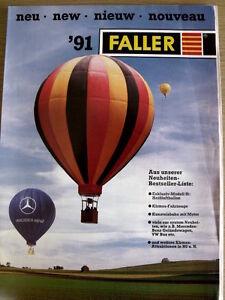 Catalogo FALLER novità 1991 - ENG DEU FRA HOL -  [TR.4]