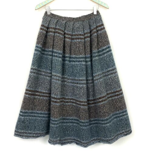 Vintage Missoni Wool Mohair Sweater Skirt 42 Orang