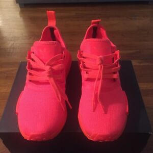 8d156e52a502e Image is loading Adidas-NMD-R1-Solar-Red-mens-size-10-