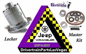 Details about Yukon Grizzly Locker Dana 35 27 Splines Jeep Wrangler TJ  Master Kit YGLM35-4-27