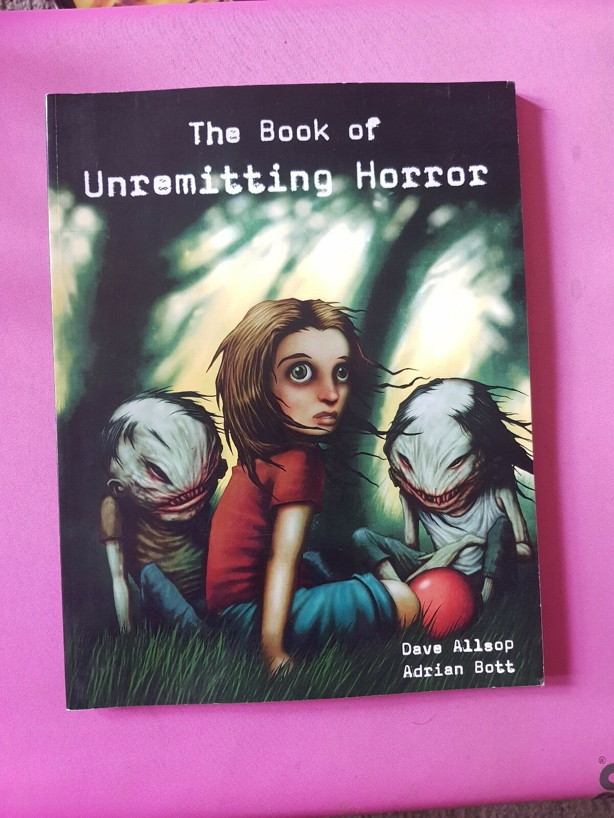 THE BOOK OF UNREMITTING HORROR - 3.5 DND VERSION - RPG ROLEPLAYING ROLEPLAY D20