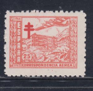 ESPANA-1944-NUEVO-SIN-FIJASELLOS-MNH-EDIFIL-988-25-cts-TUBERCULOSOS-LOTE-2