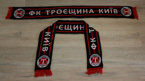 Scarf Troeshchina Kiev FC UKRAINE Football Ultras Fan Soccer Scarves