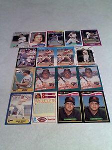 John-Kruk-Lot-of-50-cards-42-DIFFERENT-Baseball