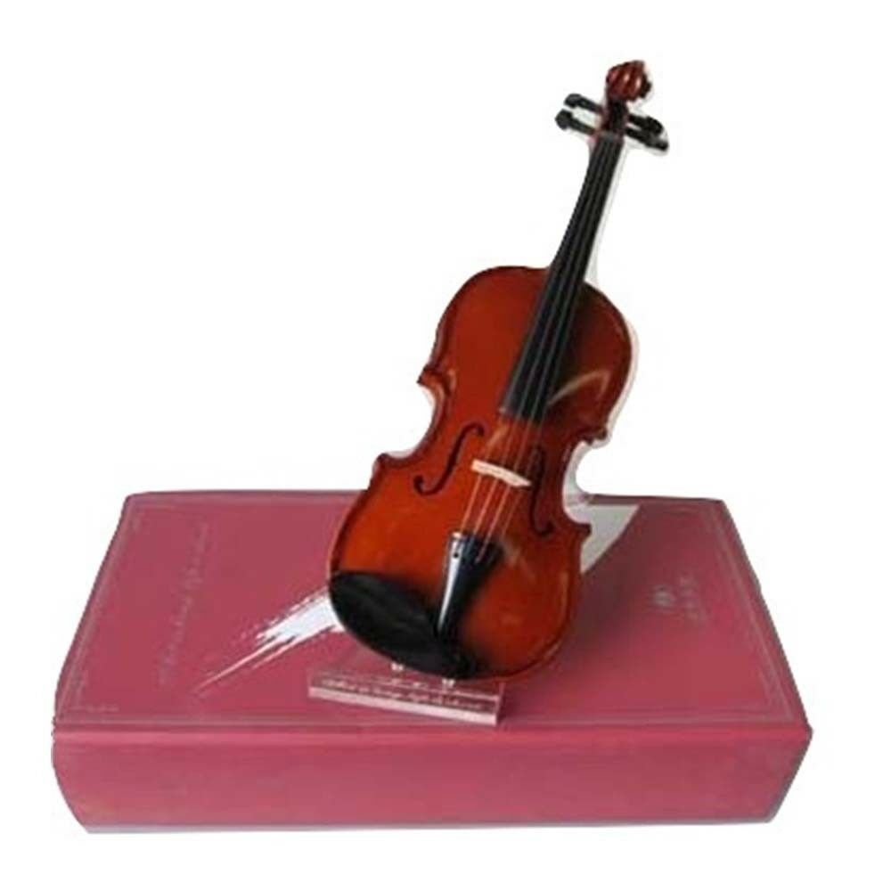 GREAT GIFT1 64 Wood Violin Desktop Statue-Musical Decor Holiday Special