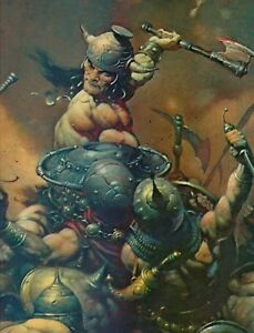 "1996 Full Color Plate /"" Wild Ride /""by Frank Frazetta Fantastic GGA"