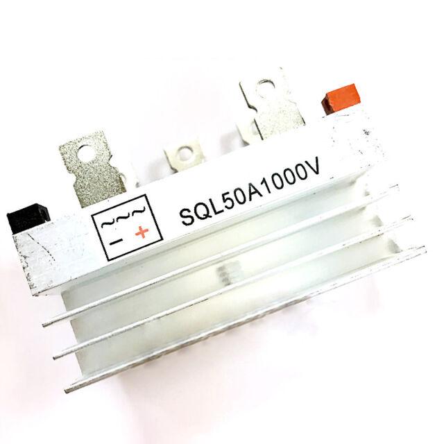 SQL 50A 1000V 3ph Three-Phase Bridge Rectifier Brushless Generator With Heatsink
