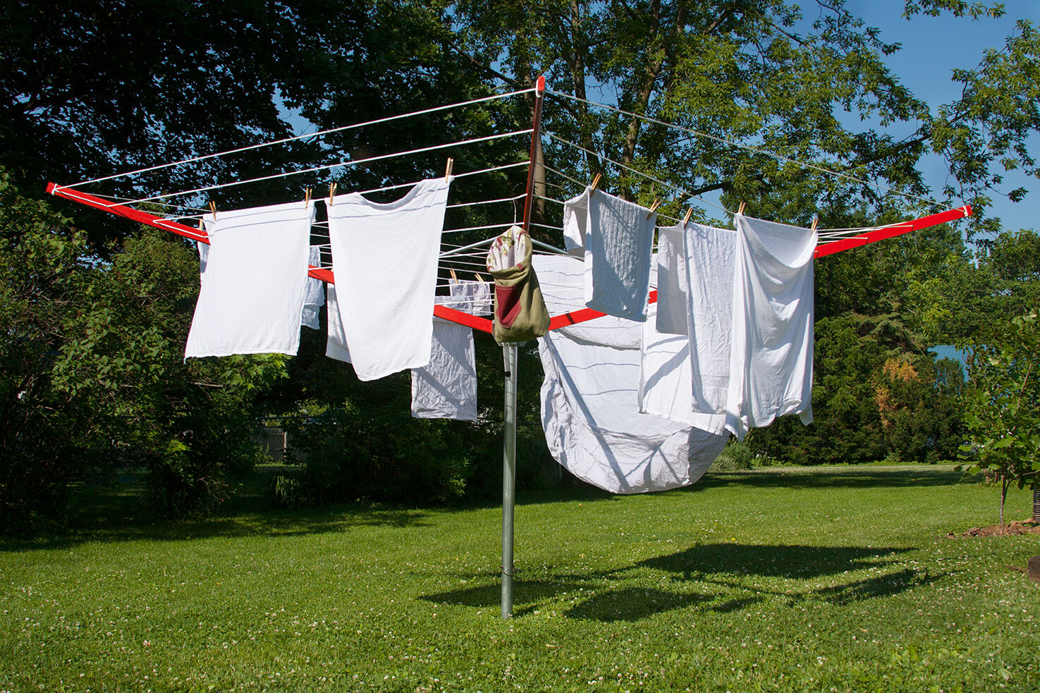 SUNSHINE CLOTHESLINE OUTDOOR UMBRELLA CLOTHES DRYER DL14